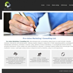 Pro-vision Marketing i Consulting Ltd.